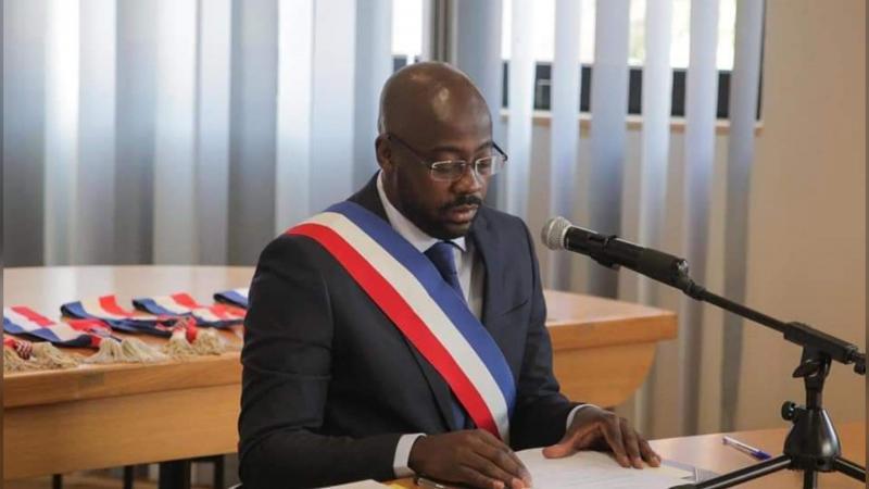Un français d'origine haïtienne élu Maire d'une commune en France.