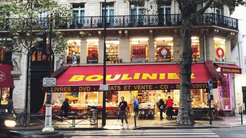 FERMETURE DÉFINITIVE DE LA LIBRAIRIE BOULINIER DU BOULEVARD SAINT MICHEL À PARIS