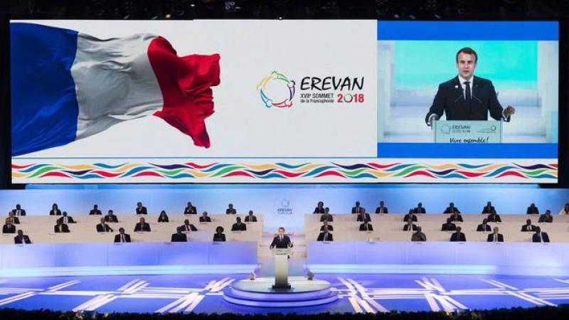 Sommet de « l'universelle » Francophonie en Arménie