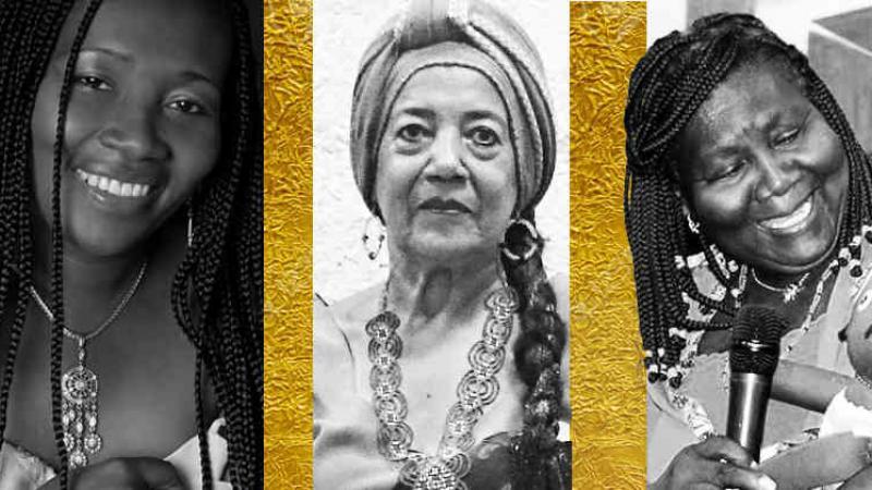"""""""Tocá ese tambor hijo mío"""": 10 poetas negras del Pacífico colombiano"""