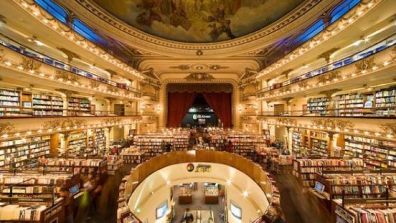 Argentine. La plus belle librairie du monde est un ancien théâtre.