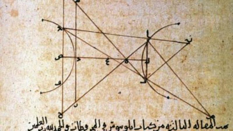 IBN AL HAYTHAM, MATHEMATICIEN ET PHYSICIEN ARABE DU XIE SIECLE