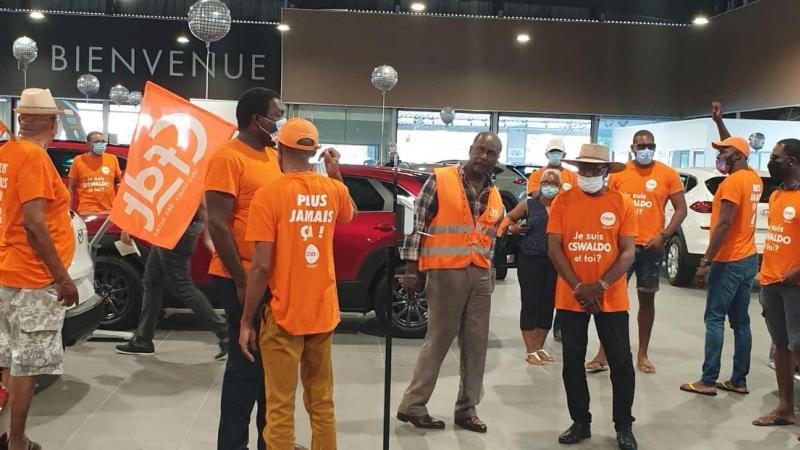 Chronologie factuelle de l'Affaire Oswaldo (Peugeot Martinique)