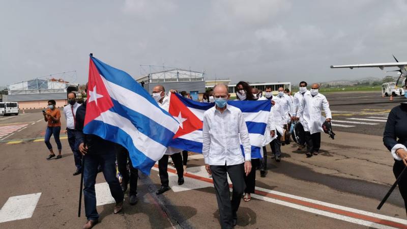 Mèsi anpil à la Délégation médicale cubaine !