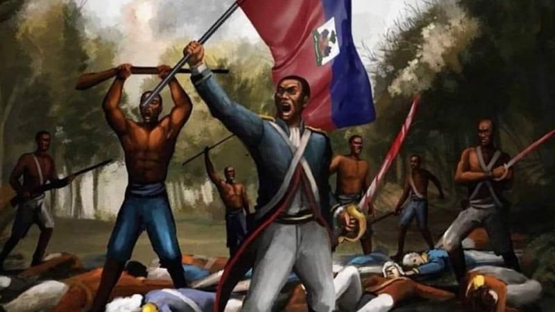 1é janvié 1804, Neg Sen-Domeng raché lendépandans-yo ek Ayiti né