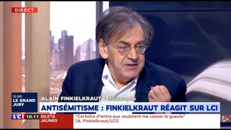 Alain Finkielkraut ou le droit d'être français