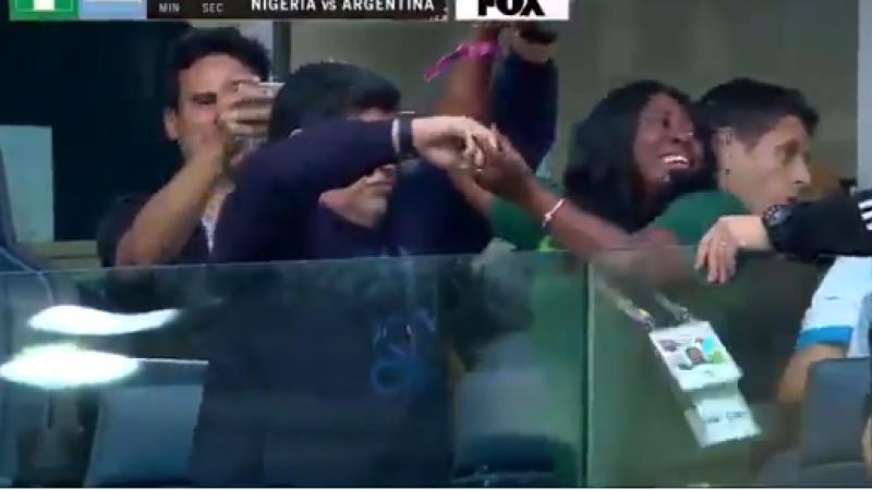 Maradona té ké fè menm makakri-a si sé té an étjip ki blan