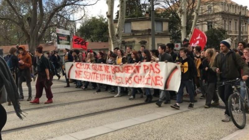 Montpellier : occupation illimitée à Paul-Va, fac de droit fermée jusqu'au 3 avril