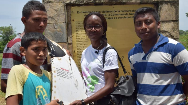 """Mme Taupin-Pélican : """"Nous ne sommes pas prêts à laisser piétiner la mémoire de 152 Martiniquais"""""""