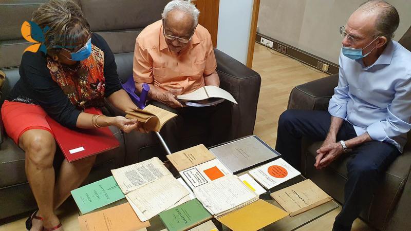 L'historien Armand Nicolas offre sa bibliothèque à la CTM