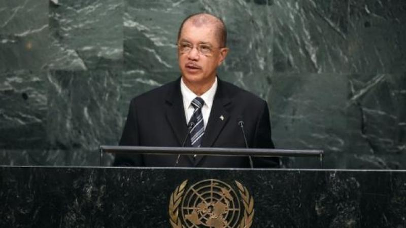 SEYCHELLES PRESIDENT QUITS AFTER PARTY LOSES FOUR-DECADE GRIP ON POWER