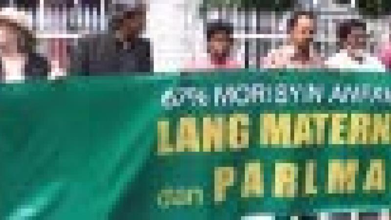 « LEDIKASYON PU TRAVAYER » MANIFESTE POUR L'EMPLOI DE LA LANGUE CREOLE AU PARLEMENT