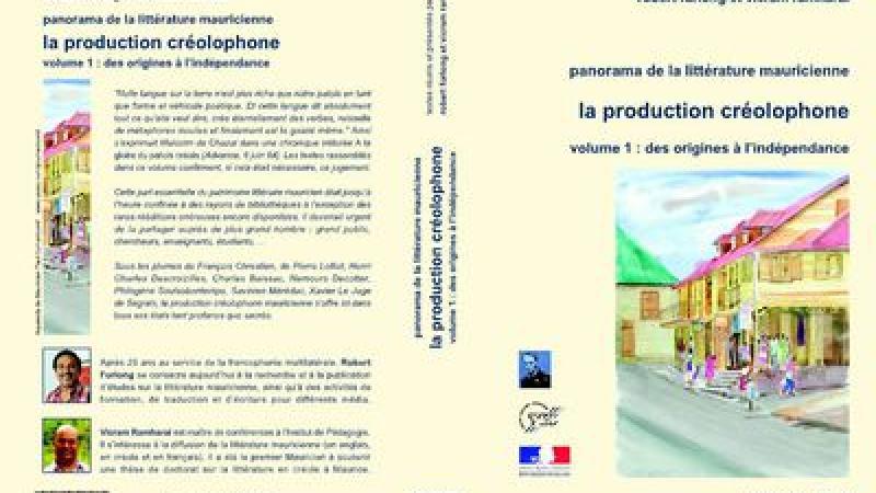 Panorama de la littérature mauricienne, La production créolophone