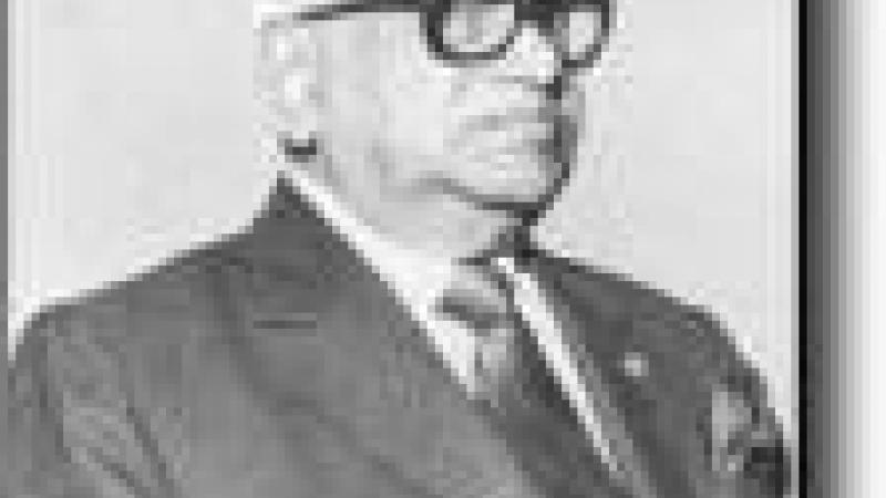 109ème ANNIVERSAIRE DE SIR SEEWOOSAGUR RANGOOLAM, PREMIER PREMIER MINISTRE DE L'ÎLE MAURICE (1900-1985)