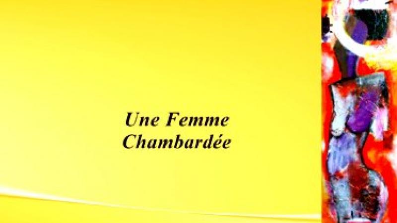 DÉDICACE D'UNE FEMME CHAMBARDÉE EN MARTINIQUE