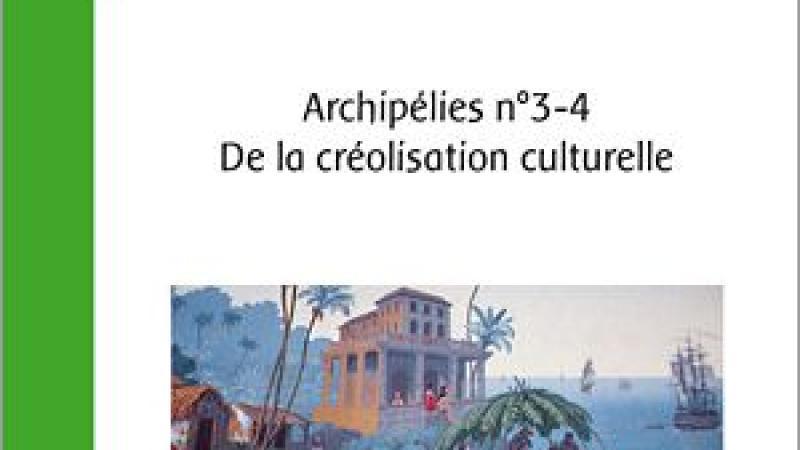 DE LA CRÉOLISATION CULTURELLE