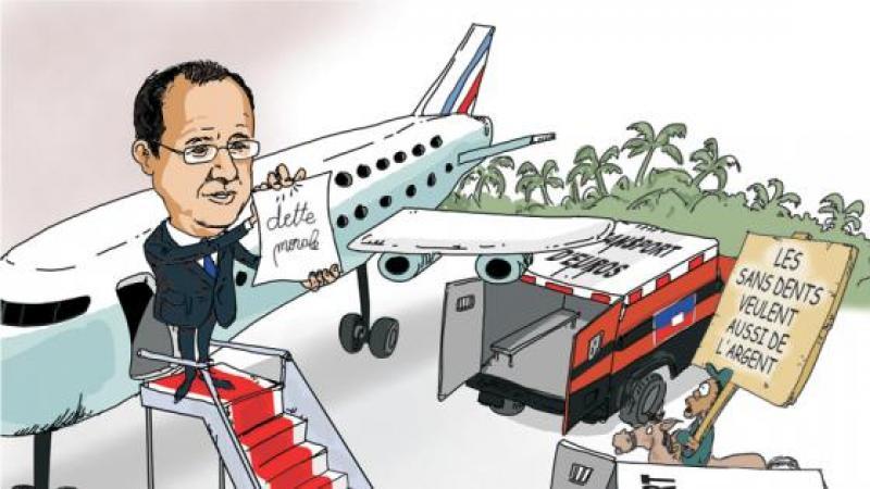 HOLLANDE A HAITI