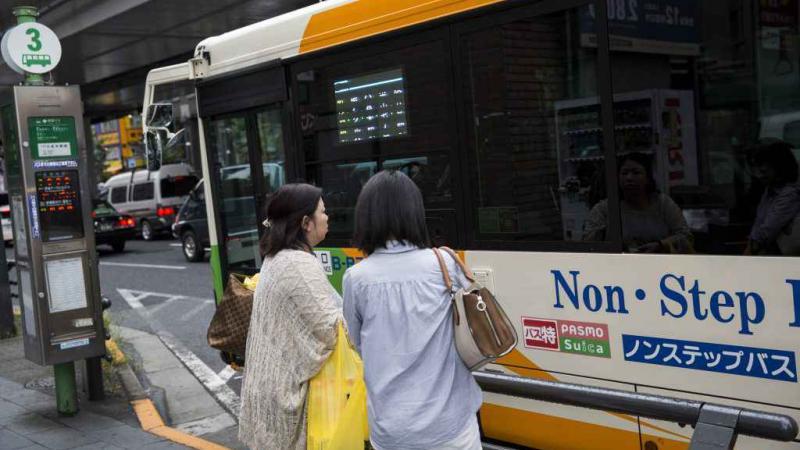 Au Japon, des chauffeurs de bus font grève en transportant les passagers gratuitement
