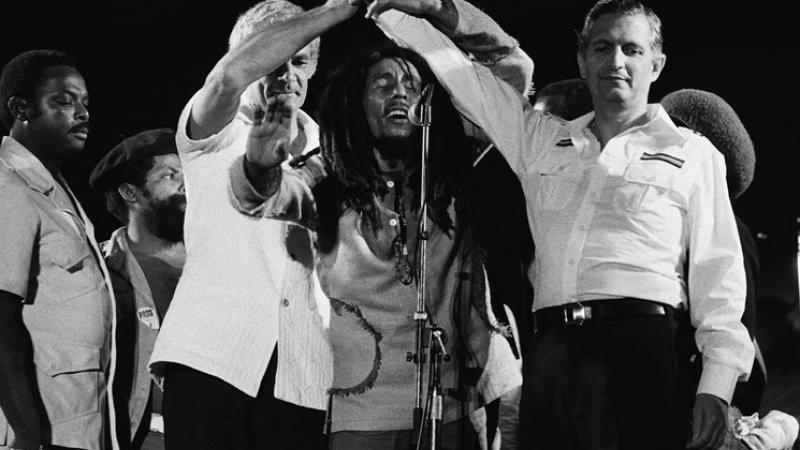 On this day in Jamaican history: Bob Marley One Love Peace Concert