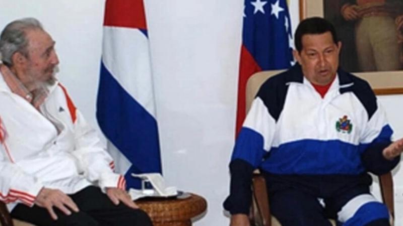 García Márquez, Maradona y Chávez, los amigos de Fidel
