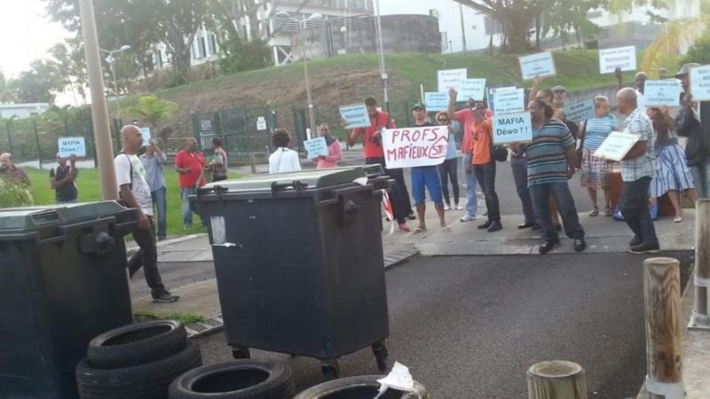 La mobilisation des étudiants du campus de Schoelcher continue lundi 26 mars