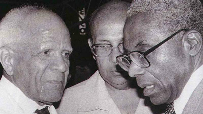 """En 1980, Aimé Césaire déclarait : """"La Martinique sera indépendante tôt ou tard"""""""