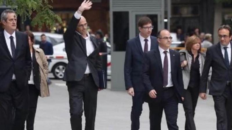 L'intégralité du gouvernement catalan va en prison ce soir