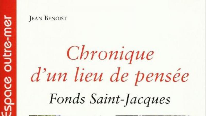 FONDS SAINT-JACQUES : CHRONIQUE D'UN LIEU DE PENSEE