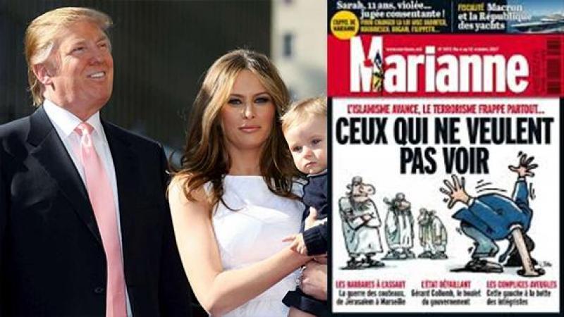 """Pour Donald TRUMP, le tueur de Las Vegas est un """"malade mental"""", mais pour l'hebdomadaire Français MARIANNE, c'est un """"membre de l'Etat islamique"""""""