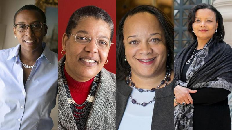 FOR THE FIRST TIME IN HISTORY, HARVARD HAS FOUR BLACK WOMEN FACULTY DEANS