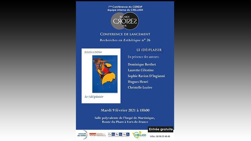 """CEREAP :  Conférence de lancement : """"Le (dé)plaisir"""""""
