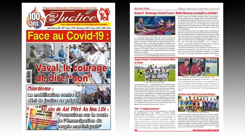 "Face au Covid-19 : Vaval , le courage de dire ""non"""