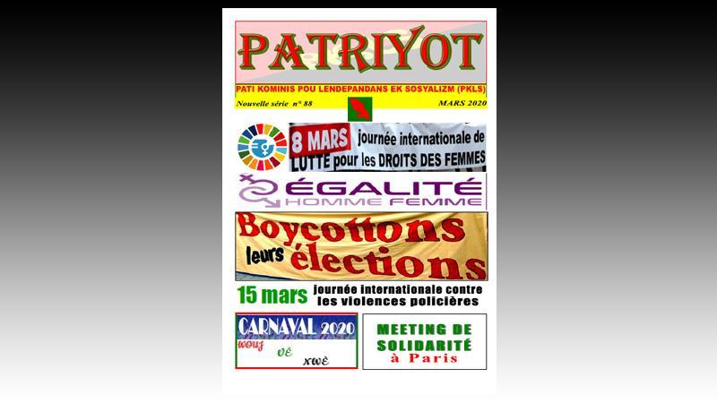Patriyot #88 Mars 2020