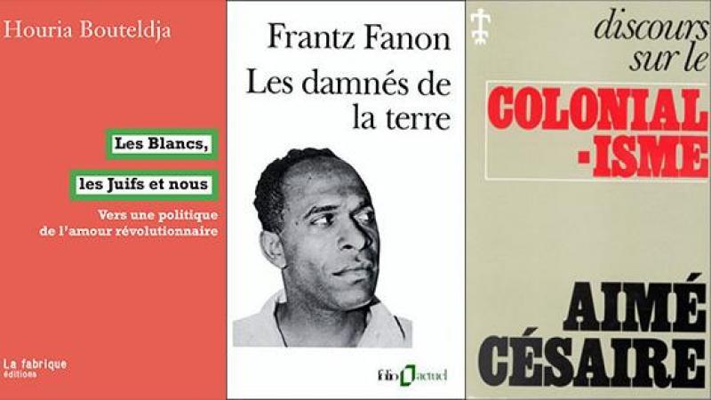 HOURIA  BOUTELDJA DANS LE SILLAGE D'AIME CESAIRE ET DE FRANTZ FANON (1è partie)