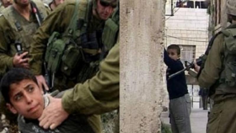 1266 ENFANTS ENLEVÉS PAR L'ARMÉE ISRAÉLIENNE EN 2014