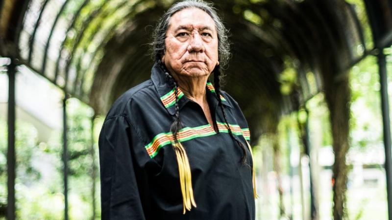 """Ernie LaPointe, arrière-petit-fils de Sitting Bull : """"Il faut se débarrasser de la peur"""""""