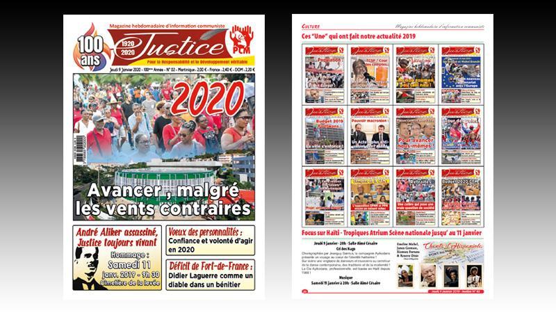 """""""JUSTICE"""" DANS LA 100è ANNEE DE SON AGE"""