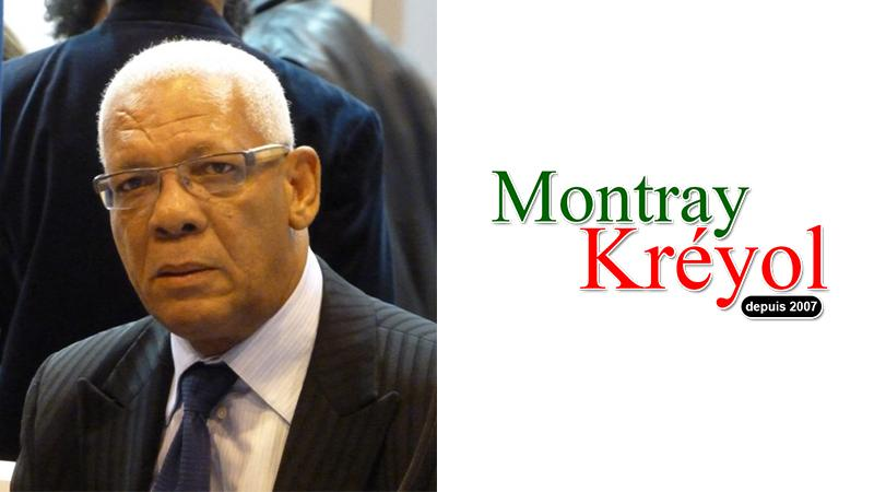 ERNEST PEPIN : JE SOUTIENS MONTRAY KREYOL