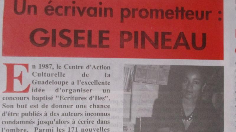 Gisèle Pineau : « Je suis totalement guadeloupéenne. »