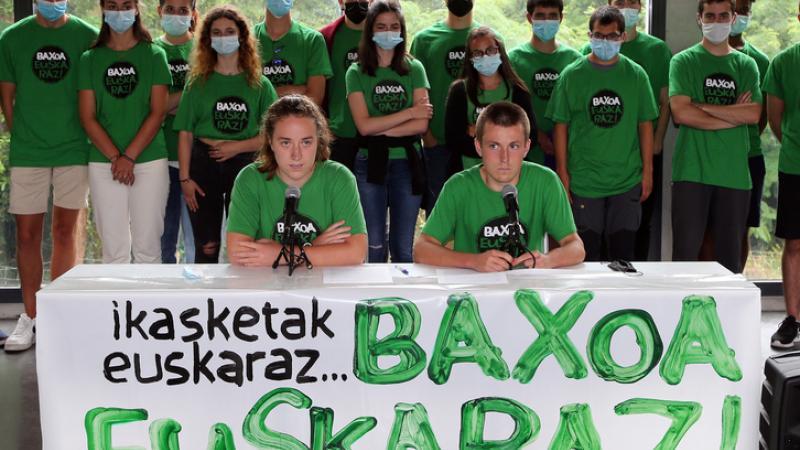 Bac 2021 : des lycéens d'Etxepare désobéissent en composant l'épreuve de philo en basque
