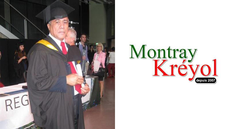 Georgy Lamvohee soutient Montray Kréyol
