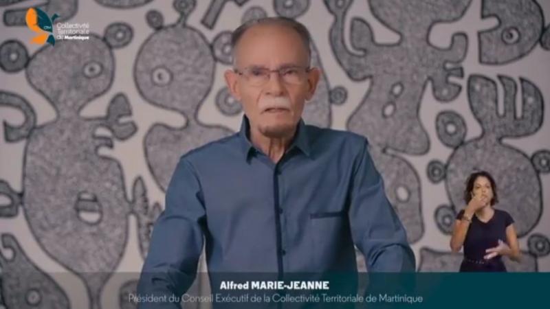 """Alfred Marie-Jeanne, président de la Collectivité de Martinique : """"Nous sommes tenus de repenser le monde...J'ai confiance dans notre jeunesse !"""""""