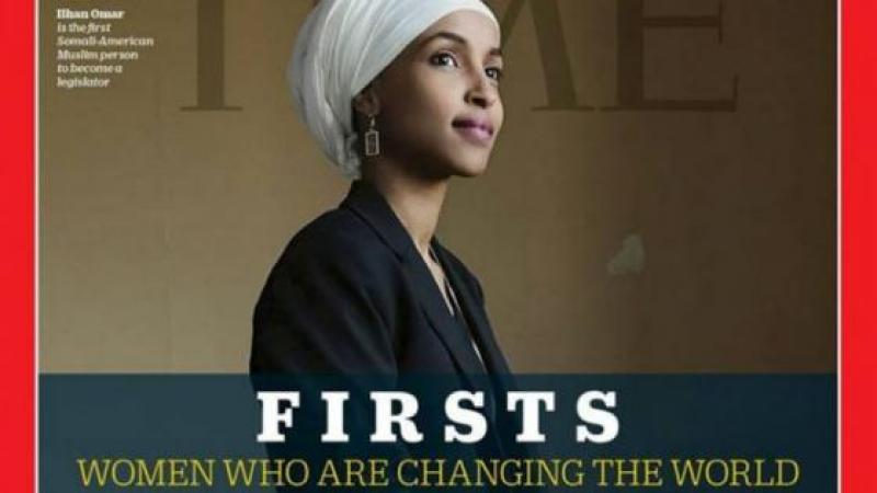 Etats-Unis : Ilham Omar, la première élue musulmane au Congrès, en couverture du Time