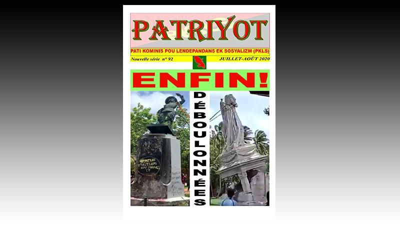 Patriyot #92 Juillet-Août 2020