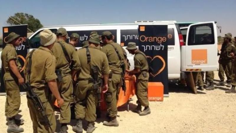 COMMENT ORANGE A SOUTENU LE MASSACRE ISRAELIEN A GAZA