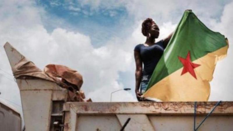RESISTANCE IN FRENCH GUIANA. POPULATION FED UP WITH EXPLOITATION & NEOCOLONIALISM