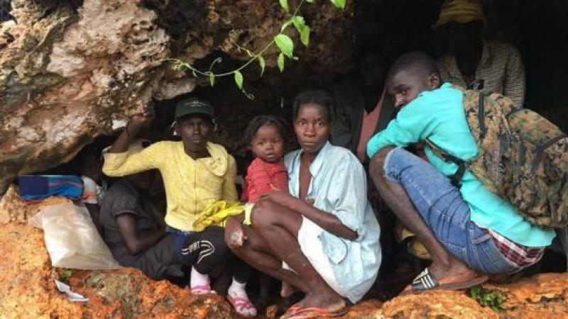 DESPERATE HAITIANS LIVING IN CAVES, EATING TOXIC PLANTS IN POST-HURRICANE HAITI
