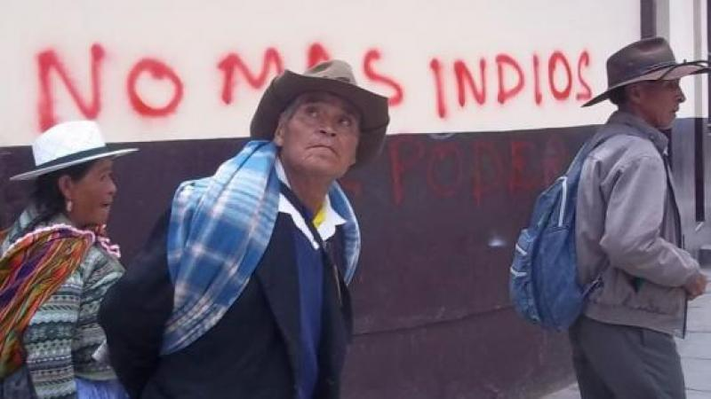 BOLIVIE : UNE GUERRE DE 500 ANS...