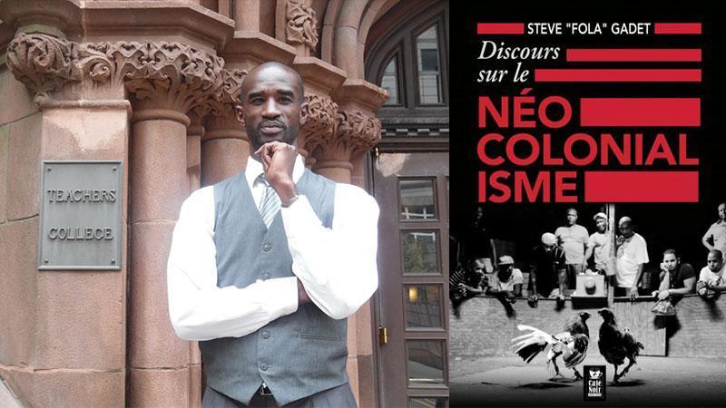 """""""Discours sur le néo-colonialisme"""" de Steve Gadet sur Radio-Guadeloupe"""
