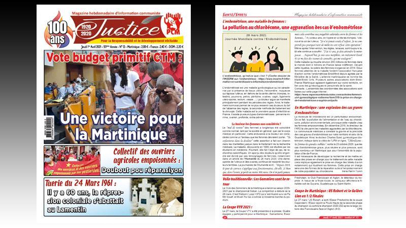 Vote du budget primitif 2021 de la CTM : Une victoire pour la Martinique